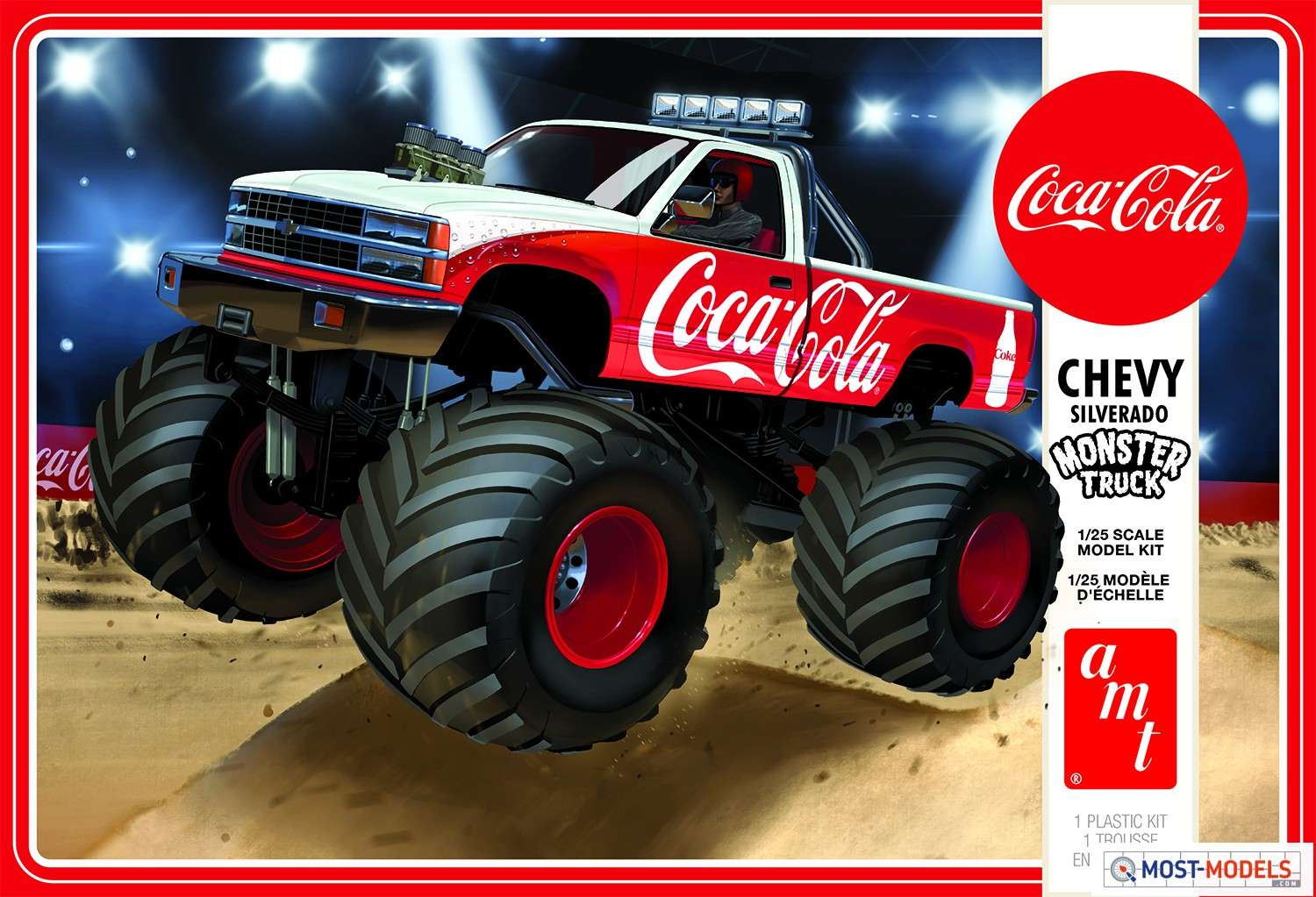 AMT1184M-12-Chevy-Silverado-Monster-Truck-Coca-cola-packaging-Lid-1
