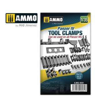 1:35 AMMO MIG 8081 Panzer IV Tool Clamps