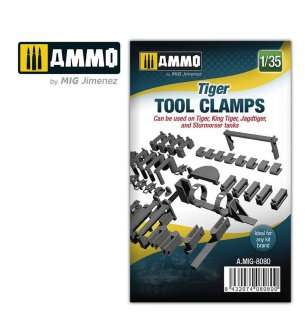 1:35 AMMO MIG 8080 Tiger Tool Clamps