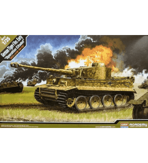 1:35 Academy 13509 German Tiger-I Ver. EARLY