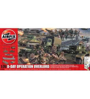 1:76 Airfix 50162A D-Day Operation Overlord  - Gift Set