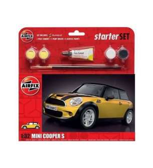 1:32 Airfix 55310 Mini Cooper S - Large Starter Set