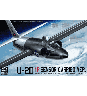 1:48 AFV Club AR48113 Lockheed U-2D IR Sensor Carried ver.