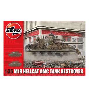 1:35 Airfix 1371 M-18 Hellcat GMC Tank Destroyer