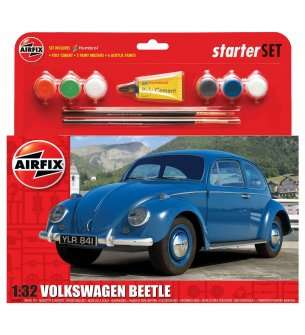 1:32 Airfix 55207 Volkswagen VW Beetle - Medium Starter Set