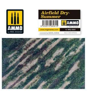 AMMO MIG 8481 Airfield Dry-Summer - Mat for Diorama