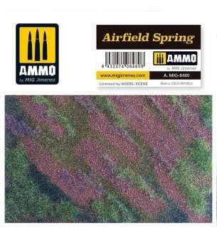 AMMO MIG 8480 Airfield Spring - Mat for Diorama