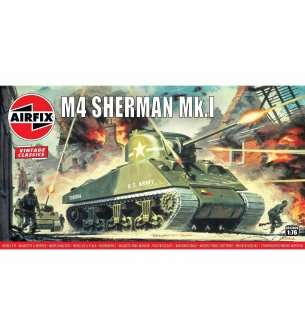 AIRFIX A02320V Sherman crabe Kit Plastique