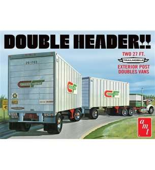 1:25 AMT 1132 Double Header - Tandem Trailers