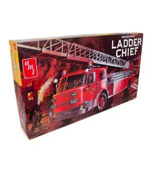 1:25 AMT 1204 American Lafrance Ladder Chief Fire Truck