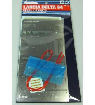 1:24 Beemax 24020  Lancia Delta S4 '86 Monte Carlo - Detail Up Parts