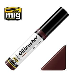 AMMO MIG 3512 Oilbrusher Dark Brown