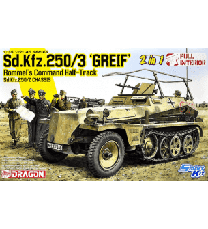 1:35 Dragon 6911 Sd.Kfz.250/3 Greif - Rommel's Command Half-Track