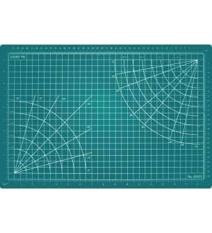 Green 5-1//2 by 9-Inch Excel Self-Healing Cutting Mats