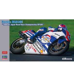 1:12 Hasegawa 21717 Honda NSR 500 - 1989 All Japan Road Race GP500