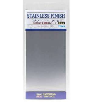 Hasegawa 71943 TF943 Stainless Steel Finish - Foil - 90x200mm
