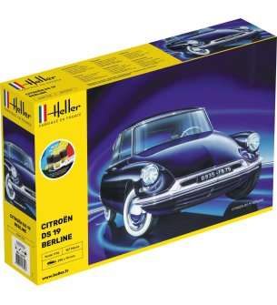 1:16 Heller 56795 Citroen DS 19 - Starter Kit
