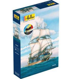 1:200 Heller 56835 Galion Ship - Starter Kit
