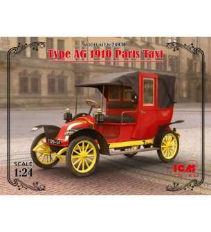 1:24 ICM 24030 Type AG 1910 Paris Taxi