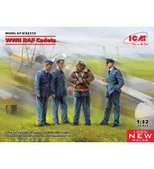 1:32 ICM 32113 WWII RAF Cadets - Figures