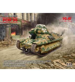 1:35 ICM 35336 FCM 36, WWII French Light Tank