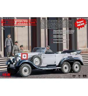 1:35 ICM 35531 G4 (1939 production), German Car with Passengers