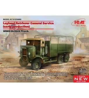1:35 ICM 35602 Leyland Retriever General Service (early) WWII British Truck
