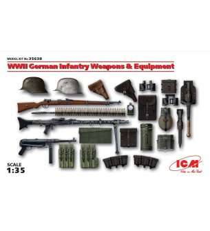 1:35 ICM 35638 WWII German Infantry Weapons and Equipment