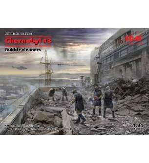 1:35 ICM 35903 Chernobyl#3. Rubble cleaners (5 figures)