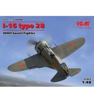 1:48 ICM 48098 I-16 type 28, WWII Soviet Fighter