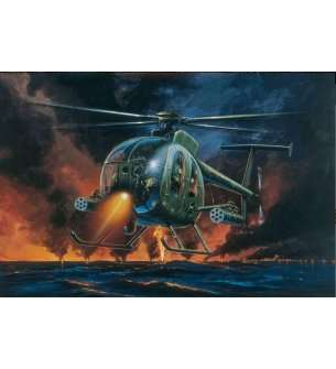 1:72 Italeri 0017 AH-6 Night Fox