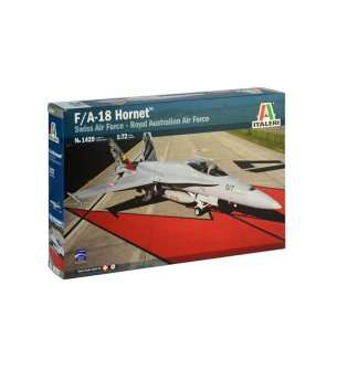1:72 Italeri 1429 F/A-18 Hornet Swiss Air Force - Royal Australian Air Force