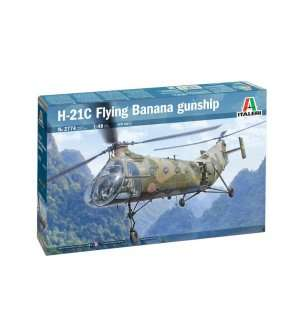 1:48 Italeri 2774 H-21C Flying Banana GunShip
