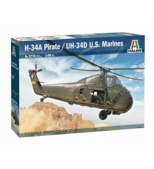 1:48 Italeri 2776 H-34A Pirate / UH-34D U.S. Marines