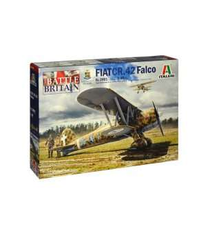 1:48 Italeri 2801 FIAT CR.42 Falco - Battle of Britain