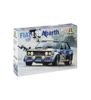 1:24 Italeri 3662  FIAT 131 Abarth Rally