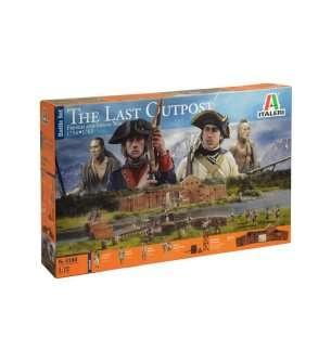 1:72 Italeri 6180 The Last Outpost 1754-1763 French & Indian - Battle Set