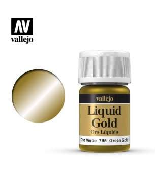Vallejo 70795 Liquid Green Gold