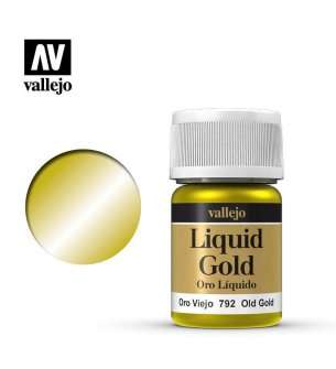 Vallejo 70792 Liquid Old Gold