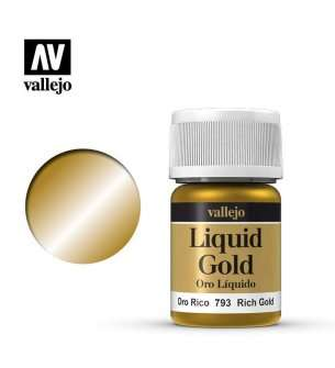 Vallejo 70793 Liquid Rich Gold