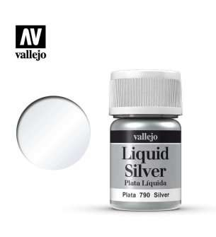 Vallejo 70790 Liquid Silver