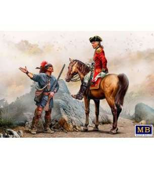 1:35 Master Box 35217 Indian Wars Series Enemy Movement Report - XVIII century. Kit No. 3