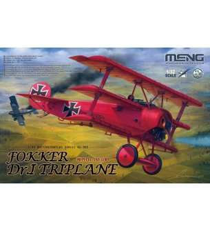 1:32 MENG QS002 Red Baron's Classic Triplane Debuts