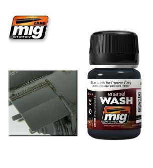 AMMO MIG 1006 Blue Wash For Panzer Grey