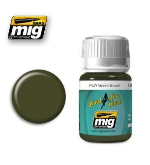 AMMO MIG 1612 PLW Green Brown