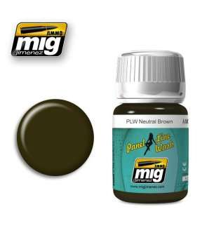 AMMO MIG 1614 PLW Neutral Brown