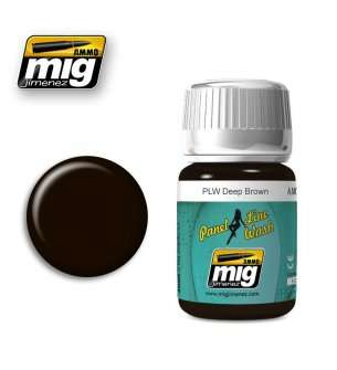 AMMO MIG 1618 PLW Deep Brown