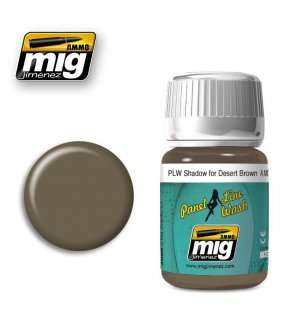 AMMO MIG 1621 PLW Shadow For Desert Brown