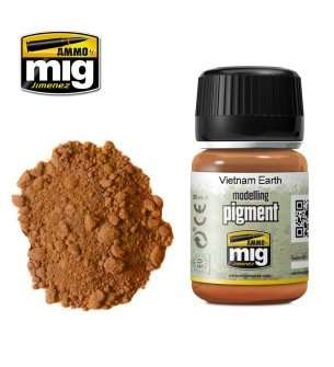 AMMO MIG 3022 Vietnam Earth Superfine Pigment