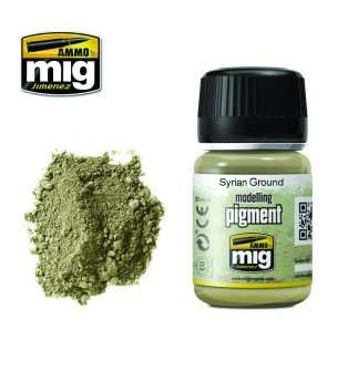 AMMO MIG 3025 Syrian Ground Superfine Pigment
